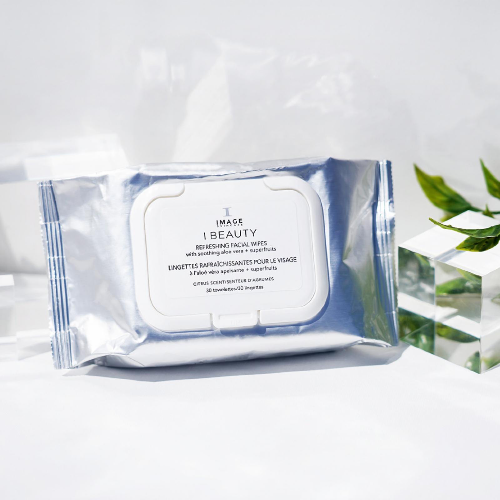 I BEAUTY Refreshing Facial Wipes - Очищающие салфетки для лица